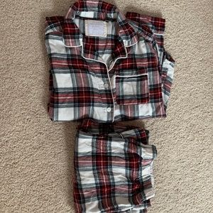 Abercrombie and Fitch plaid pjs set small